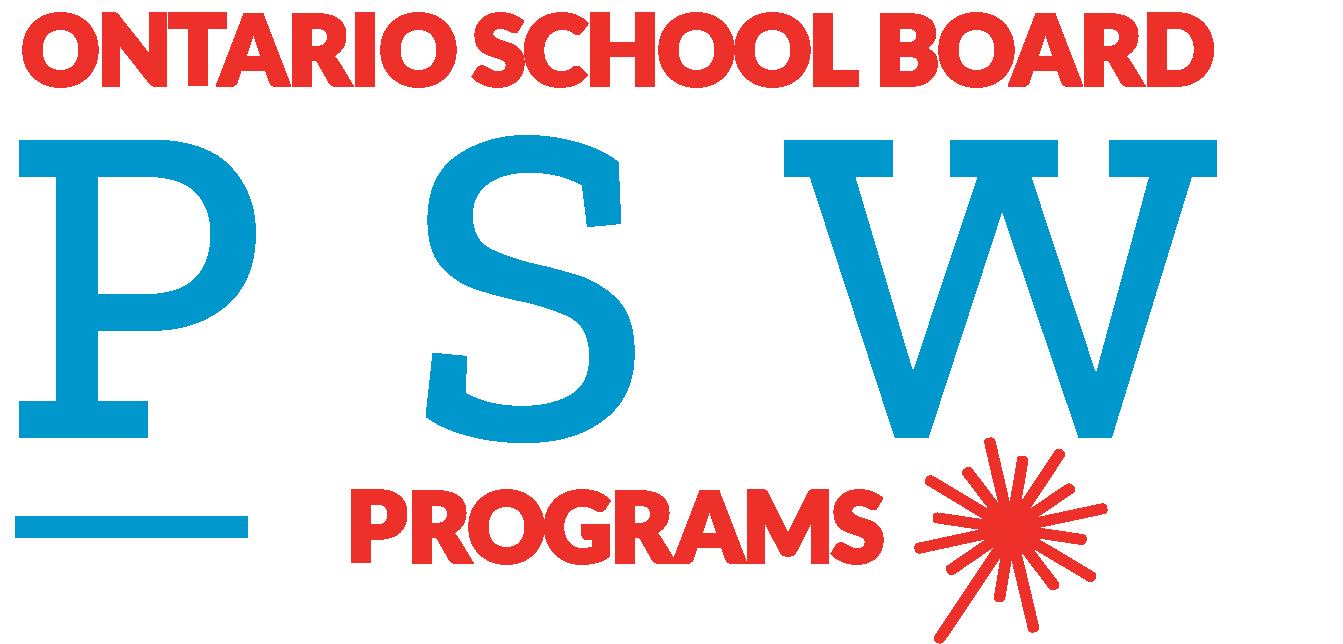 Ontario School Board PSW Programs Logo